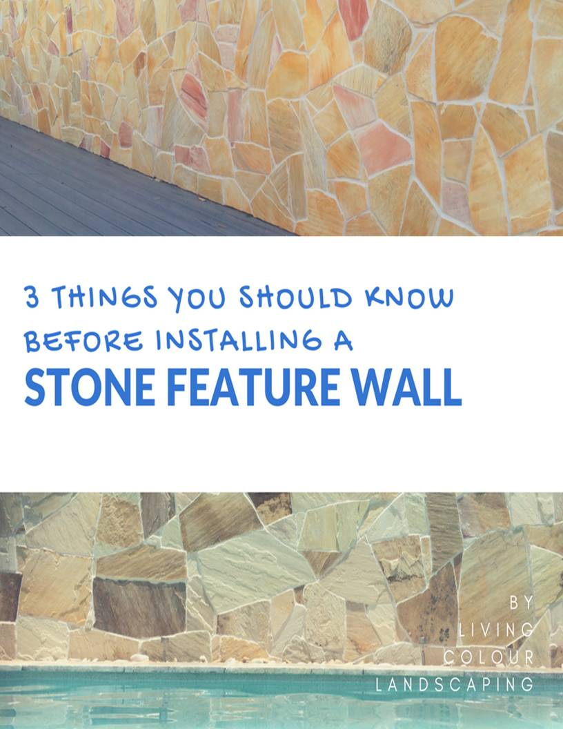 Stonefeaturewall U2014 Living Colour Landscaping U0026 Feature Walls | Sunshine  Coast